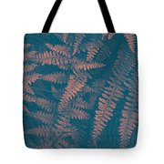 Looking At Ferns Another Way Tote Bag