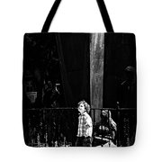 Looking At The World  Tote Bag