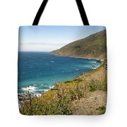 Looking Back At Pch Tote Bag
