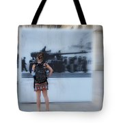 Looking Back In Time - Lisbon Tote Bag