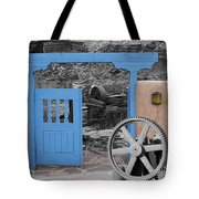 Looking Back Through History Tote Bag