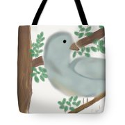 Looking Bird Tote Bag