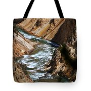 Looking Down Tote Bag by Marty Koch