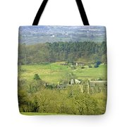 Looking Down On Cotton From Ribdon Tote Bag