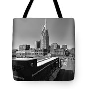 Looking Down On Nashville Tote Bag