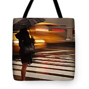 Looking For A Taxi - Rush Hour New York Tote Bag