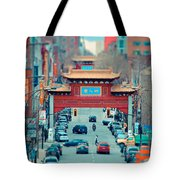 Looking For Chinatown Tote Bag