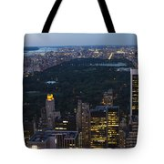 Looking From Top Of The Rock Tote Bag