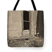 Looking In Bw Tote Bag