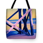 looking On - Neon Tote Bag