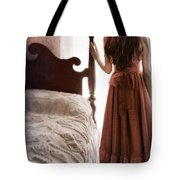 Looking Out The Bedroom Window Tote Bag