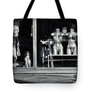 Looking Out The Shoppe Tote Bag