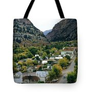 Looking Over Ouray From The Sutton Mine Trail Circa 1955 Tote Bag