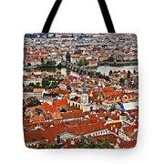 Looking Over Prague Tote Bag