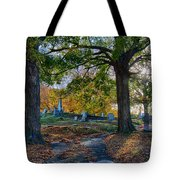 Looking Over The Hill Tote Bag