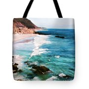 Looking South On The Northern California Coast Tote Bag