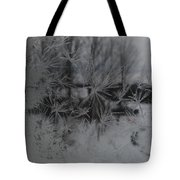 Looking Through The Frost I Tote Bag