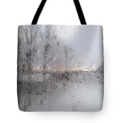 Looking Through The Frost IIi Tote Bag