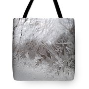 Looking Through The Frost Iv Tote Bag
