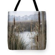 Looking Through The Reeds Tote Bag