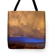 Looking Through The Storm Tote Bag by James BO  Insogna