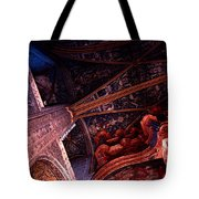 Looking Up Albi Cathedral Tote Bag