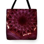Looking Up Alhambra Stalactite Dome Tote Bag