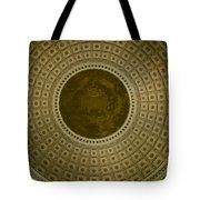 Looking Up Capitol Dome Tote Bag