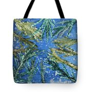 Looking Up Through The Trees Tote Bag