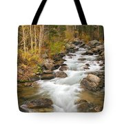 Looking Upstream Tote Bag