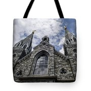 Looking Upwards Tote Bag