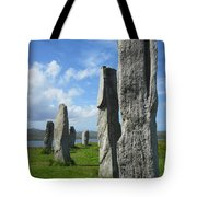 Looking West At Callanish Tote Bag