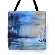 Looming In The Distance Tote Bag