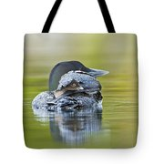 Loon Chick- Feather Hat Tote Bag