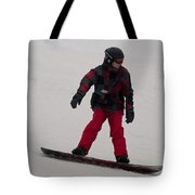 Loon Run 10 Tote Bag