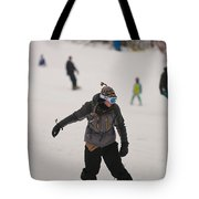 Loon Run 5 Tote Bag