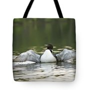 Loon Wing Spread - Drying Off Tote Bag