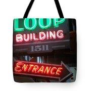Loop Building 1511 Tote Bag