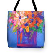 Loosey Goosey Flowers Tote Bag