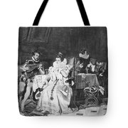 Lord Darnley/mary Stuart Tote Bag