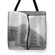 Lord Is My Shepherd Tote Bag