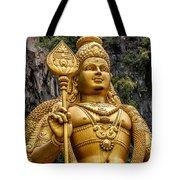 Lord Murugan Tote Bag by Adrian Evans