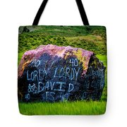 Lordy Lordy Tote Bag by Jon Burch Photography