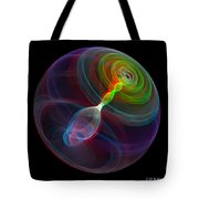 Lorenz Sphere - Use Red/cyan Filtered 3d Glasses Tote Bag