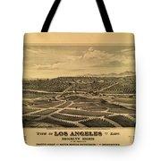 Los Angeles 1877 Tote Bag