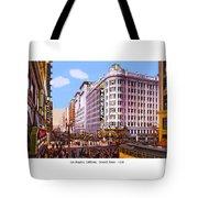 Los Angeles California - Seventh Street - 1938 Tote Bag