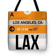 Los Angeles Luggage Poster 2 Tote Bag