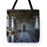 Los Angeles Union Station Original Ticket Lobby Tote Bag