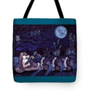 Los Cantantes Or The Singers Tote Bag