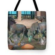Los Colinas Mustangs 14675 Tote Bag